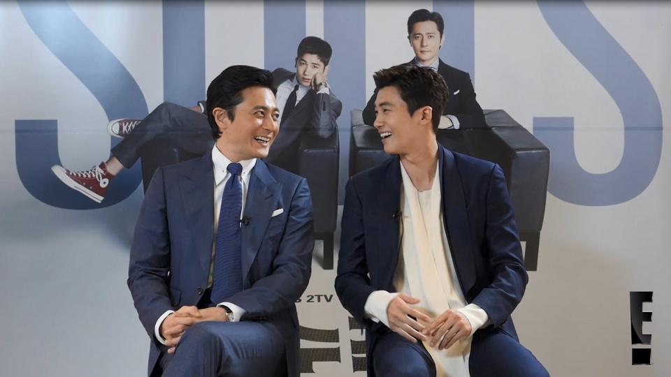 韓国版「SUITS」チャン・ドンゴン&パク・ヒョンシクインタビュー/E!VIPKSTARINTERVIEW|dTV公式‐12万作品が見放題