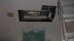 天井埋込カセット2方向吹き出し Bofore