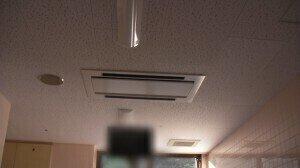 天井埋込カセット2方向吹き出し After