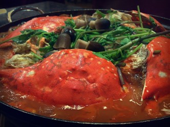 Korean Crab Stew