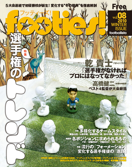 footies!vol.8<br />2010 WINTER ISSUE