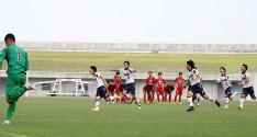 [近畿総体2015]地元・滝川第二が2試合連続PK勝ち。粘りのサッカーで帝京第三に追いすがる