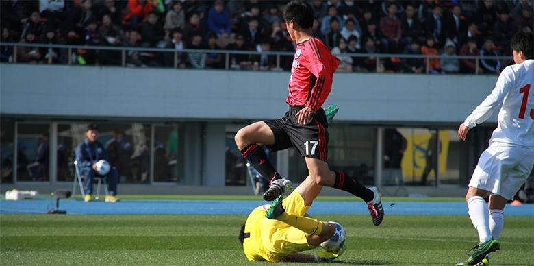 [第94回全国高校サッカー選手権大会]<br>準々決勝 東福岡vs駒澤大高 MATCH REPORT
