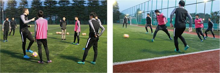 オリベイラ氏が日本のユース年代のためのトレーニングをレクチャー