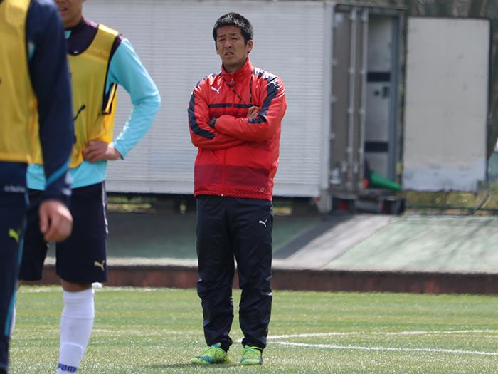 小井土監督は「一人ひとりが筑波の勝利のために戦う」と常に言っています。