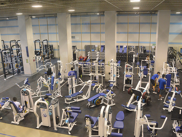 日体大が誇る最新鋭のトレーニングセンター