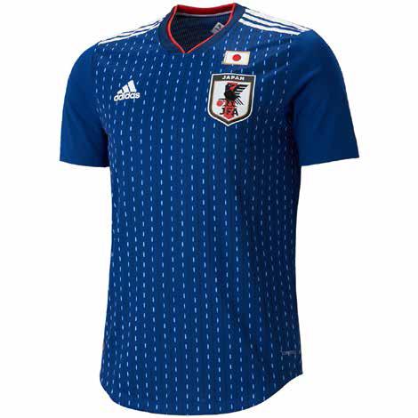 サッカー日本代表ホームユニフォーム
