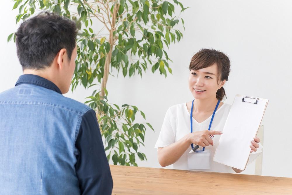 営業もしくは接客経験必須・整形外科クリニックの受付兼カウンセラー
