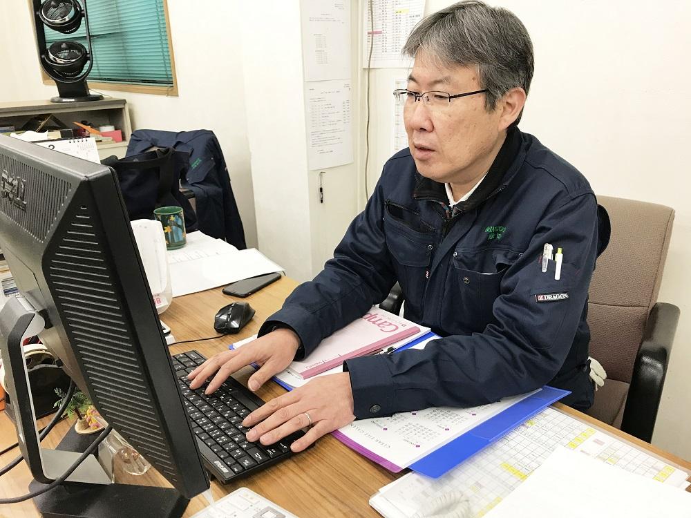 中高年(シニア)活躍中・印刷工場の管理職