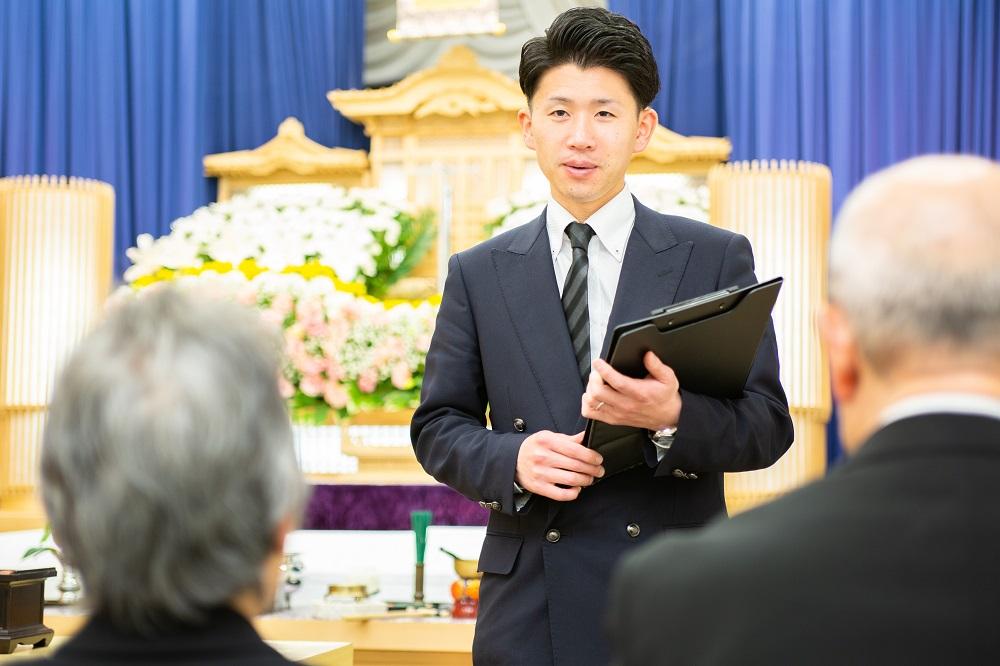 未経験から始める葬祭ディレクター(本社・水栖)