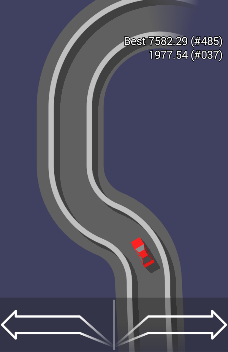 Game/iOS/Android/Free] Good Road - a game with no assets but