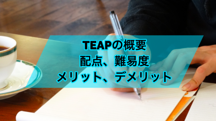 TEAPの概要・配点・難易度とメリット・デメリット