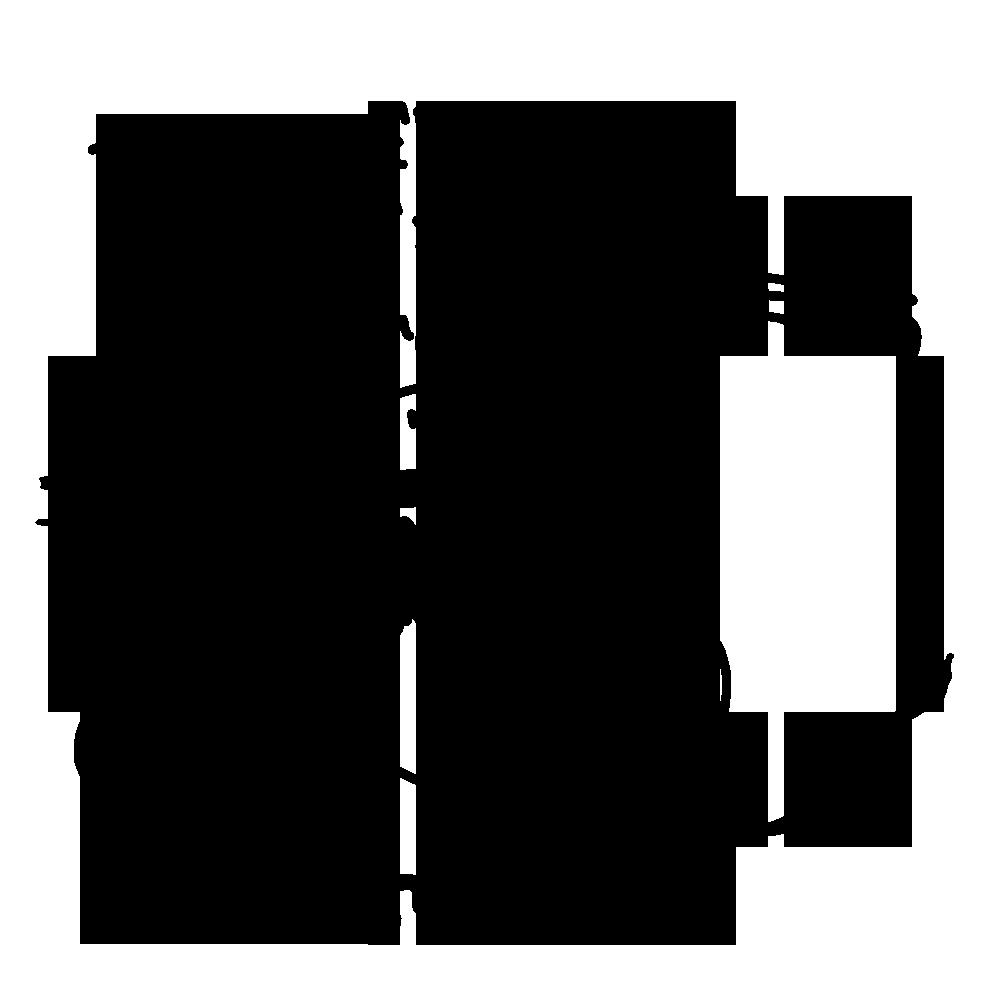 「ズキューン!!」という効果音でハートを射抜かれている女性のスタンプ画像
