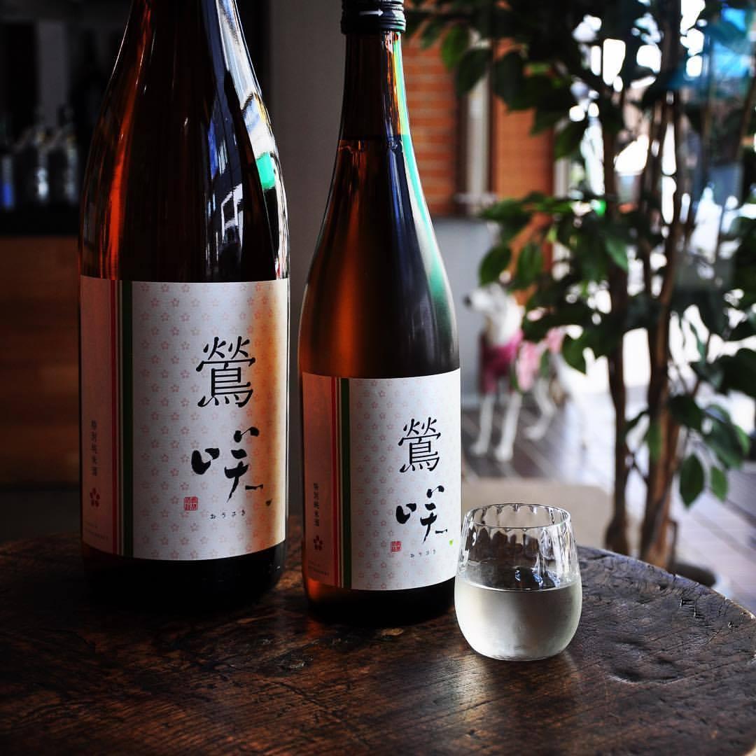 鶯咲 特別純米酒