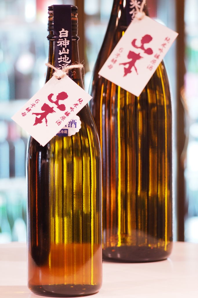 山本 純米吟醸 生原酒 6号酵母 30BY