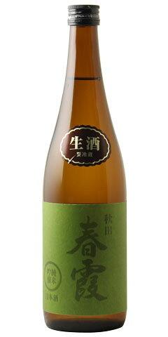 春霞 緑ラベル 純米吟醸 生 30BY