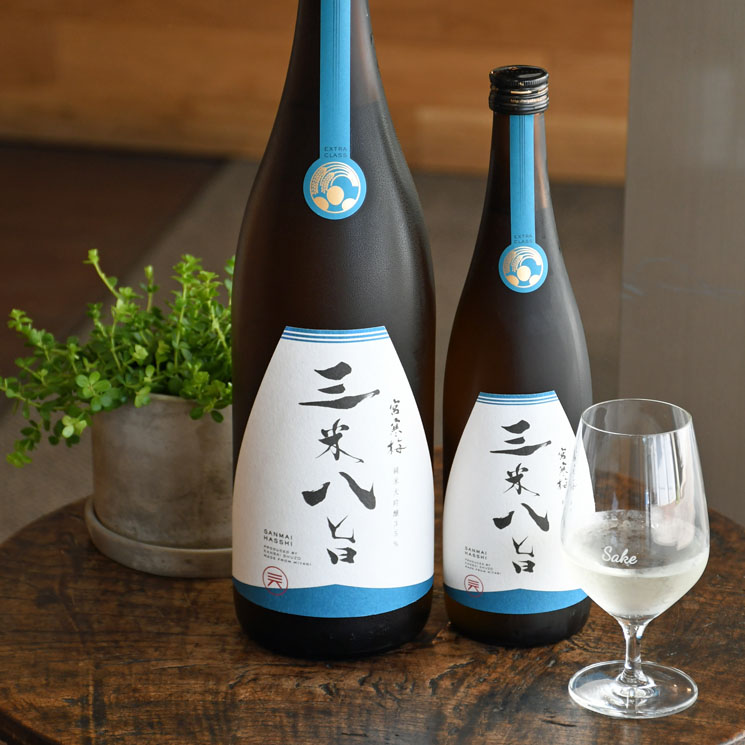宮寒梅 EXTRA CLASS 三米八旨 純米大吟醸 30BY