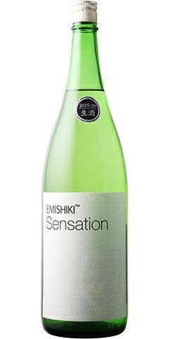 笑四季 Sensation 白ラベル 純米 生酒 R1BY