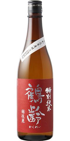 鶴齢 特別純米 越淡麗 生原酒 R1BY