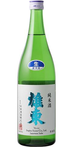 雄東 純米 無濾過生原酒 R1BY