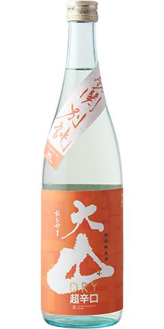 大山 橙ラベル 特別純米 超辛口 生酒 勝鬨別誂 R1BY