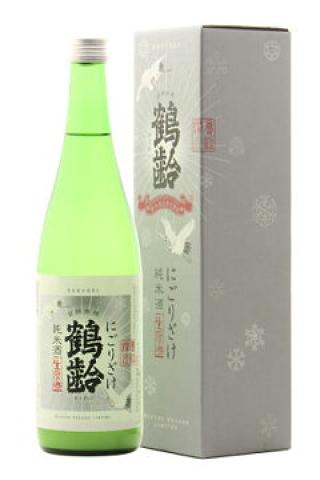鶴齢 純米 生原酒 にごりざけ 30BY