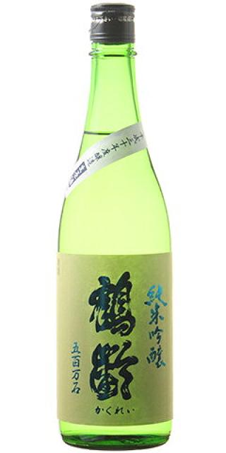 鶴齢 純米吟醸 生原酒 五百万石50% 30BY