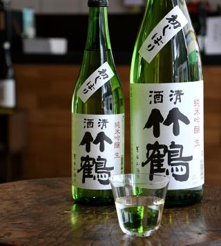 竹鶴 純米吟醸 生 初しぼり 30BY