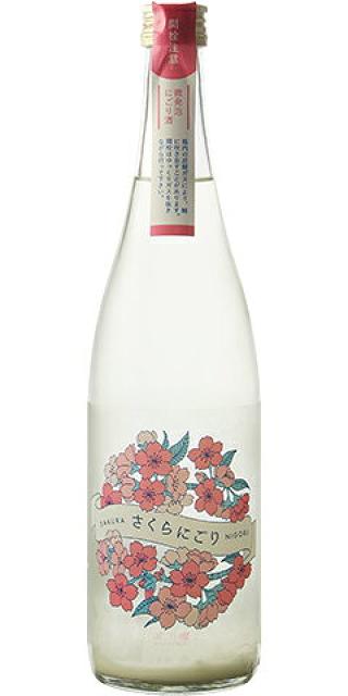 三千櫻 さくらにごり 純米 生原酒 愛山 30BY