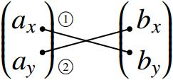 ベクトルの平行条件の図その1