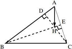重心の位置ベクトルの図