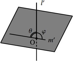2 直線の位置関係の図その4