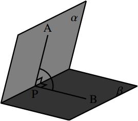 2 平面の位置関係の図その3
