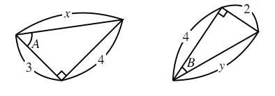 正弦・余弦の定義の図