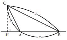 第1余弦定理の導出