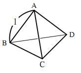 正四面体の計量