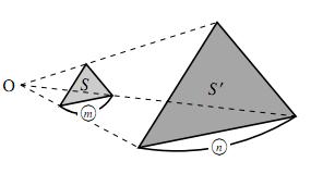 平面図形の面積比