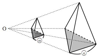 空間図形の表面積比と体積比