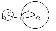 2円の関係の解答の図その1
