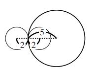 2円の関係の解答の図その2