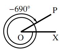 一般角の練習〜その2〜の解答の図その4
