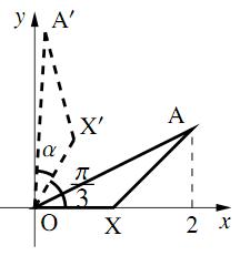 三角関数の加法定理と平面図形の解答の図その1