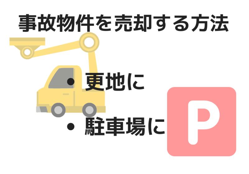 事故物件を売却、または活用する方法
