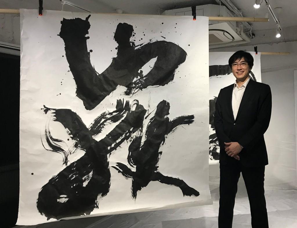171106青山先生+作品