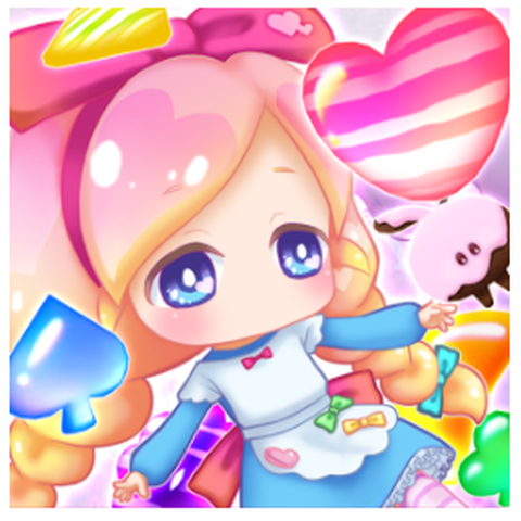 Alice in Candy Puzzle icon