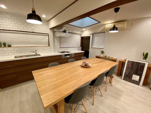 FULL HOUSE 新オフィス 内装 ダイニング キッチン