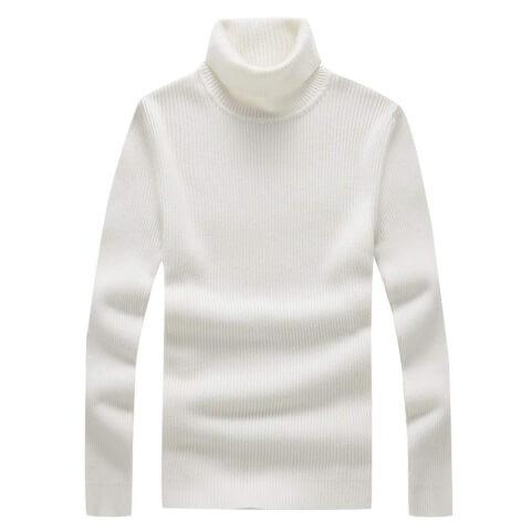 セーター白