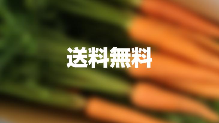 【送料無料】間引き葉付き人参5kgを1名様にプレゼント!