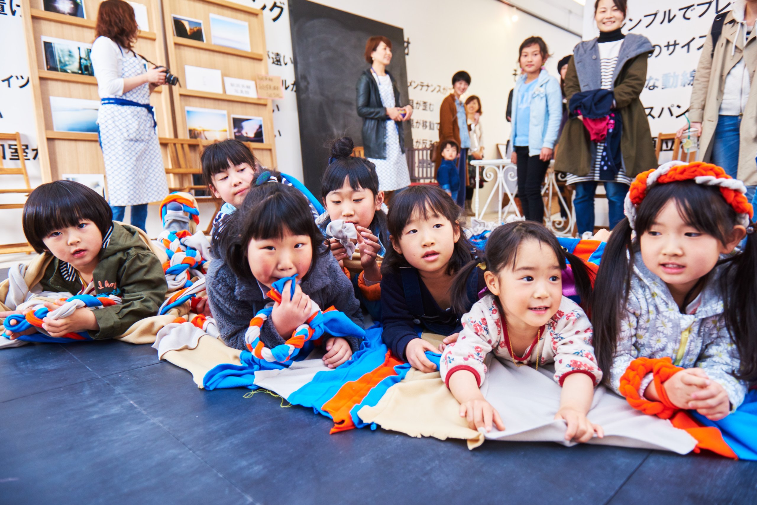 今年の春に開催した、SWITCH×mamanohibiのイベントの様子
