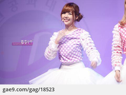 121010 OBS공개방송 오렌지카라멜 직캠 by EDIT